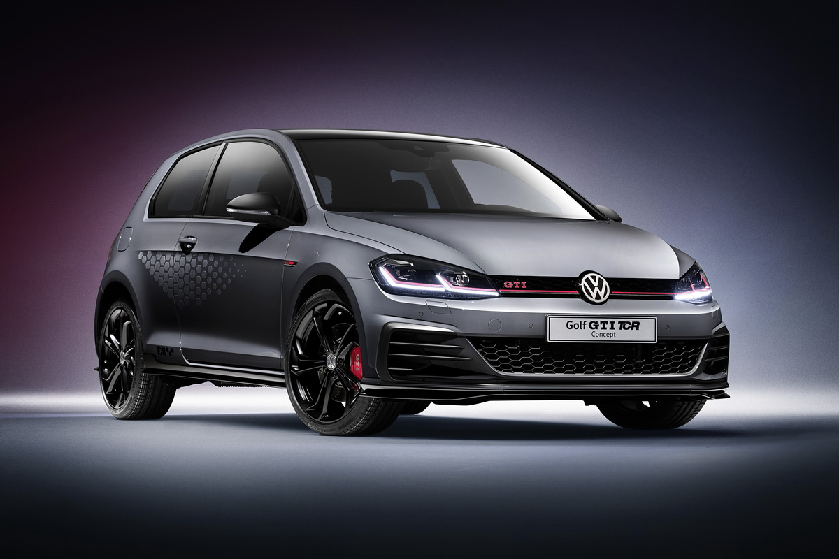 New VW Golf GTI TCR Concept 2018 14