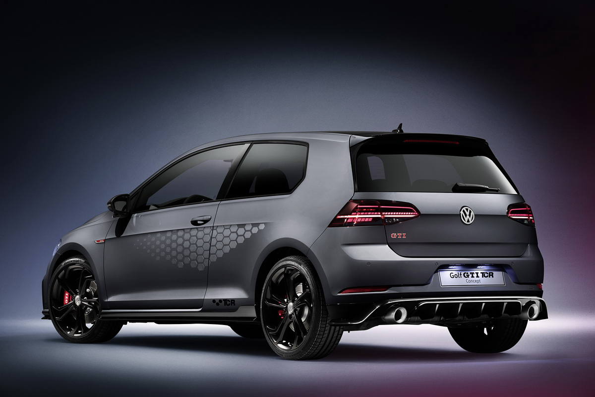 New VW Golf GTI TCR Concept 2018 15