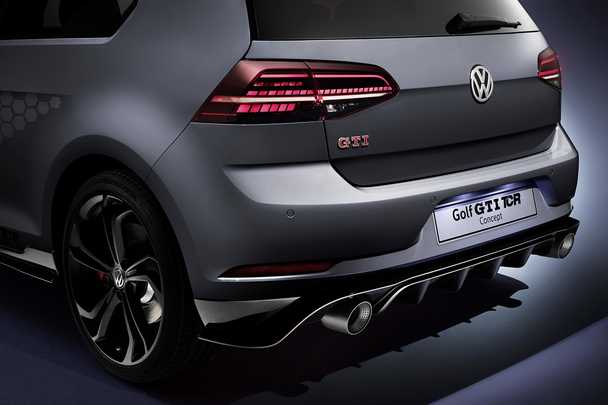 New VW Golf GTI TCR Concept 2018 17
