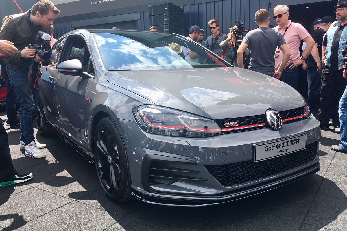 New VW Golf GTI TCR Concept 2018 4