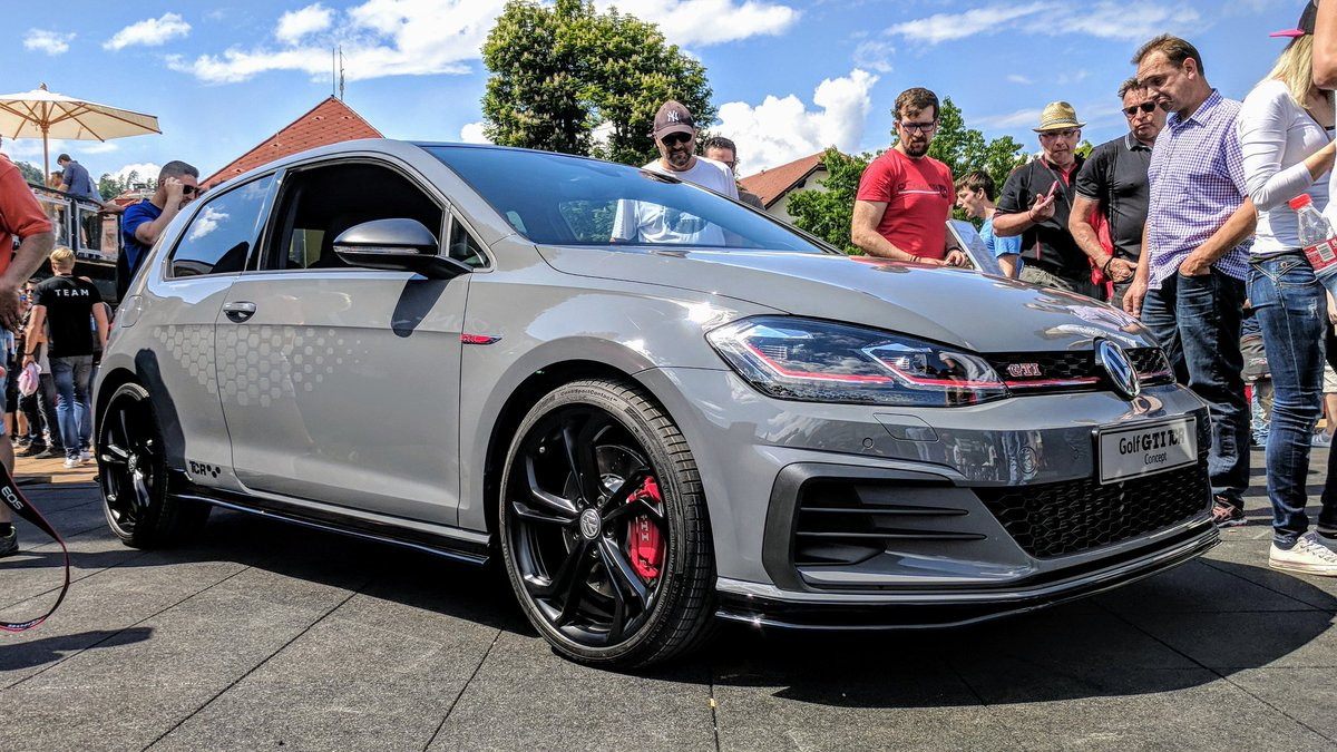 New VW Golf GTI TCR Concept 2018 8