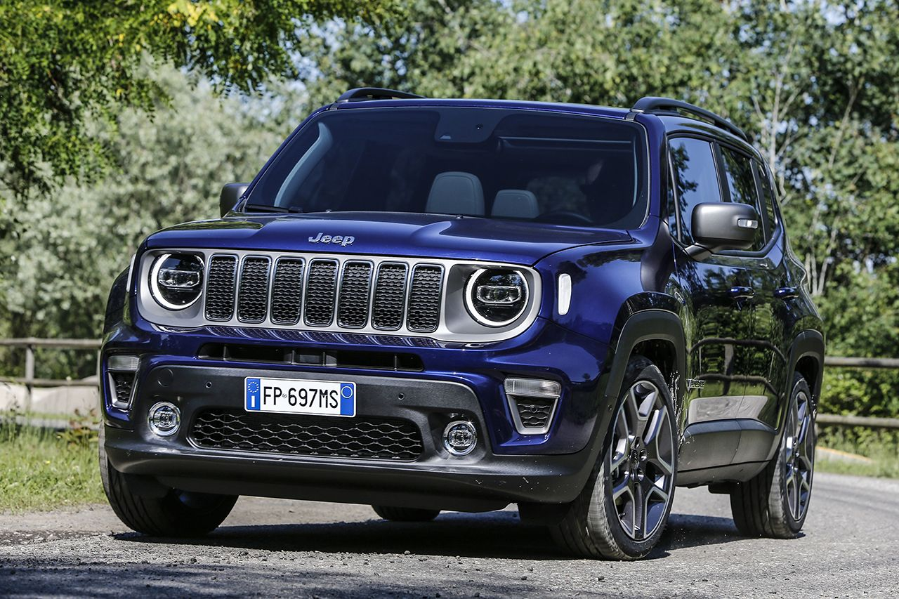 Jeep Renegade Limited 2019 facelift 0
