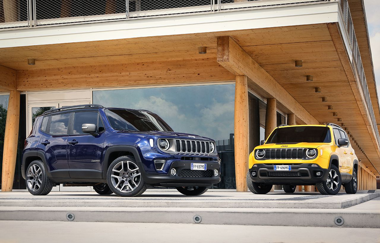 Jeep Renegade Limited 2019 facelift 1