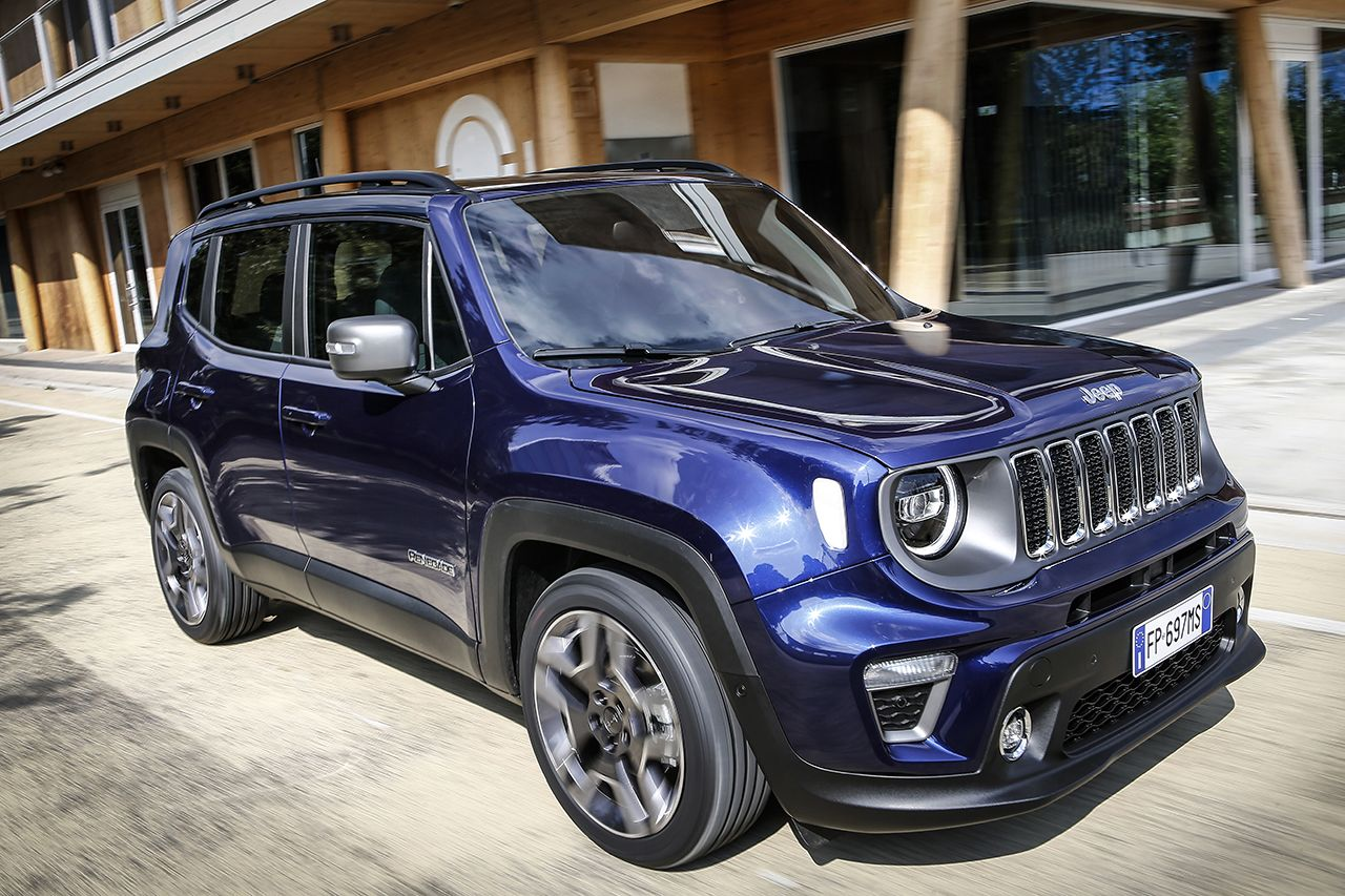 Jeep Renegade Limited 2019 facelift 12