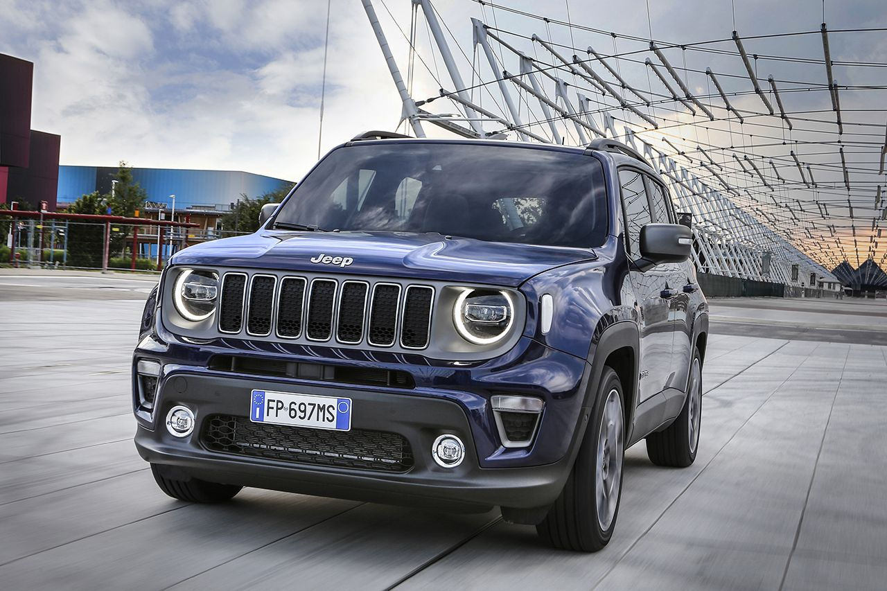 Jeep Renegade Limited 2019 facelift 13