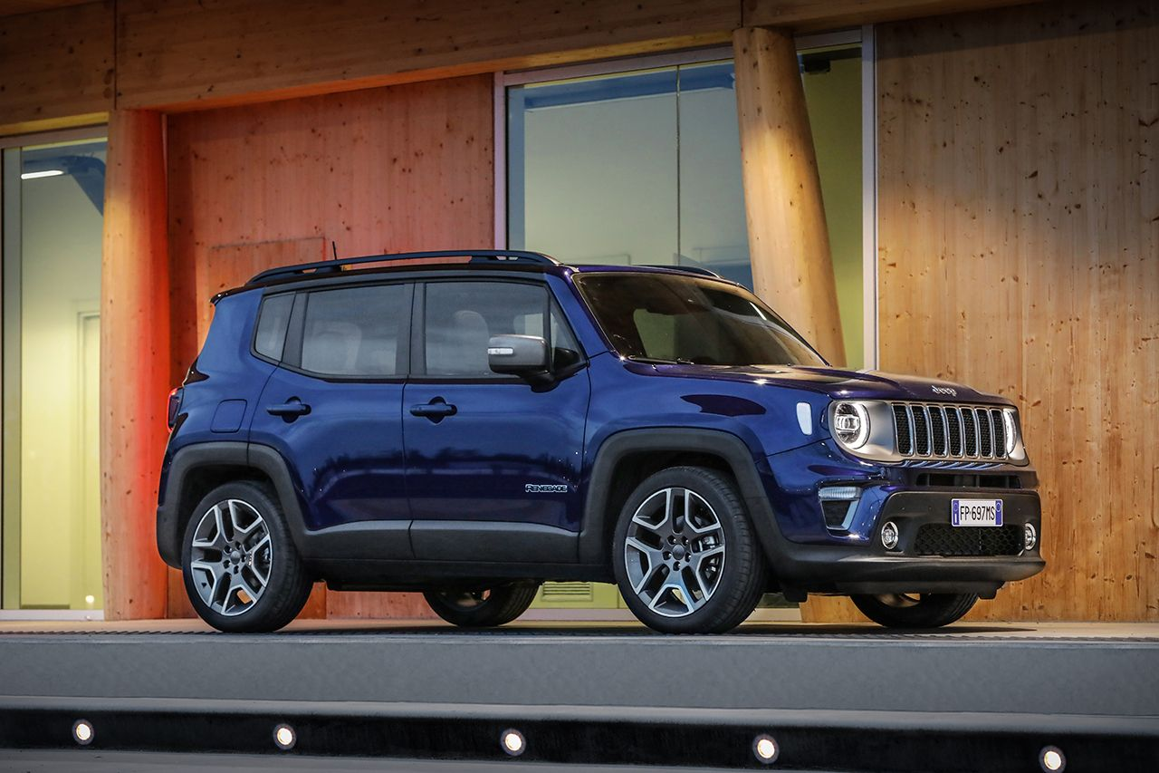 Jeep Renegade Limited 2019 facelift 16