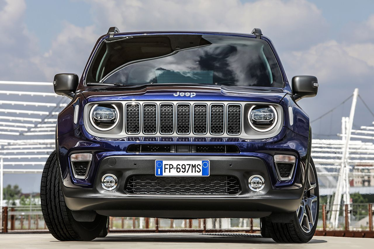 Jeep Renegade Limited 2019 facelift 17