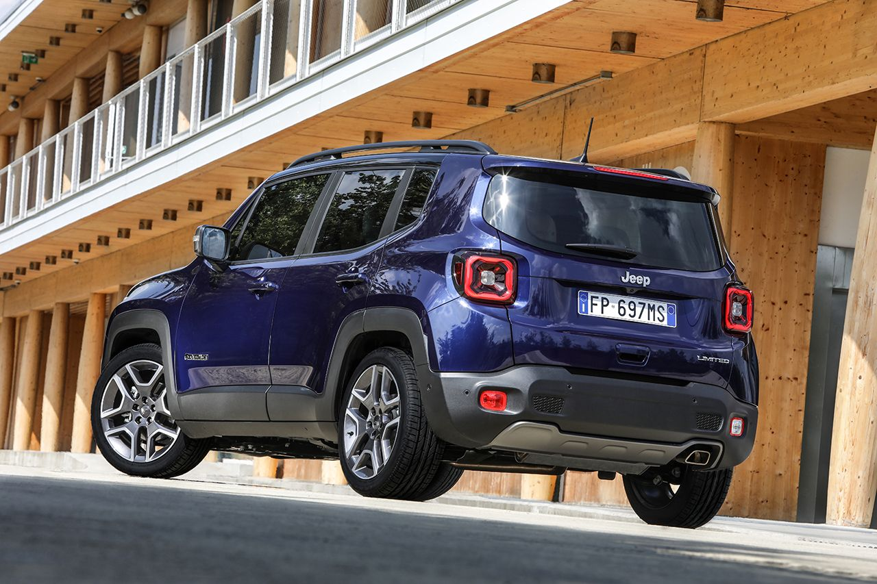 Jeep Renegade Limited 2019 facelift 18