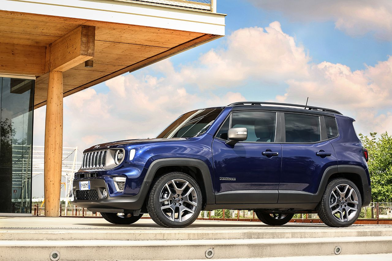 Jeep Renegade Limited 2019 facelift 19