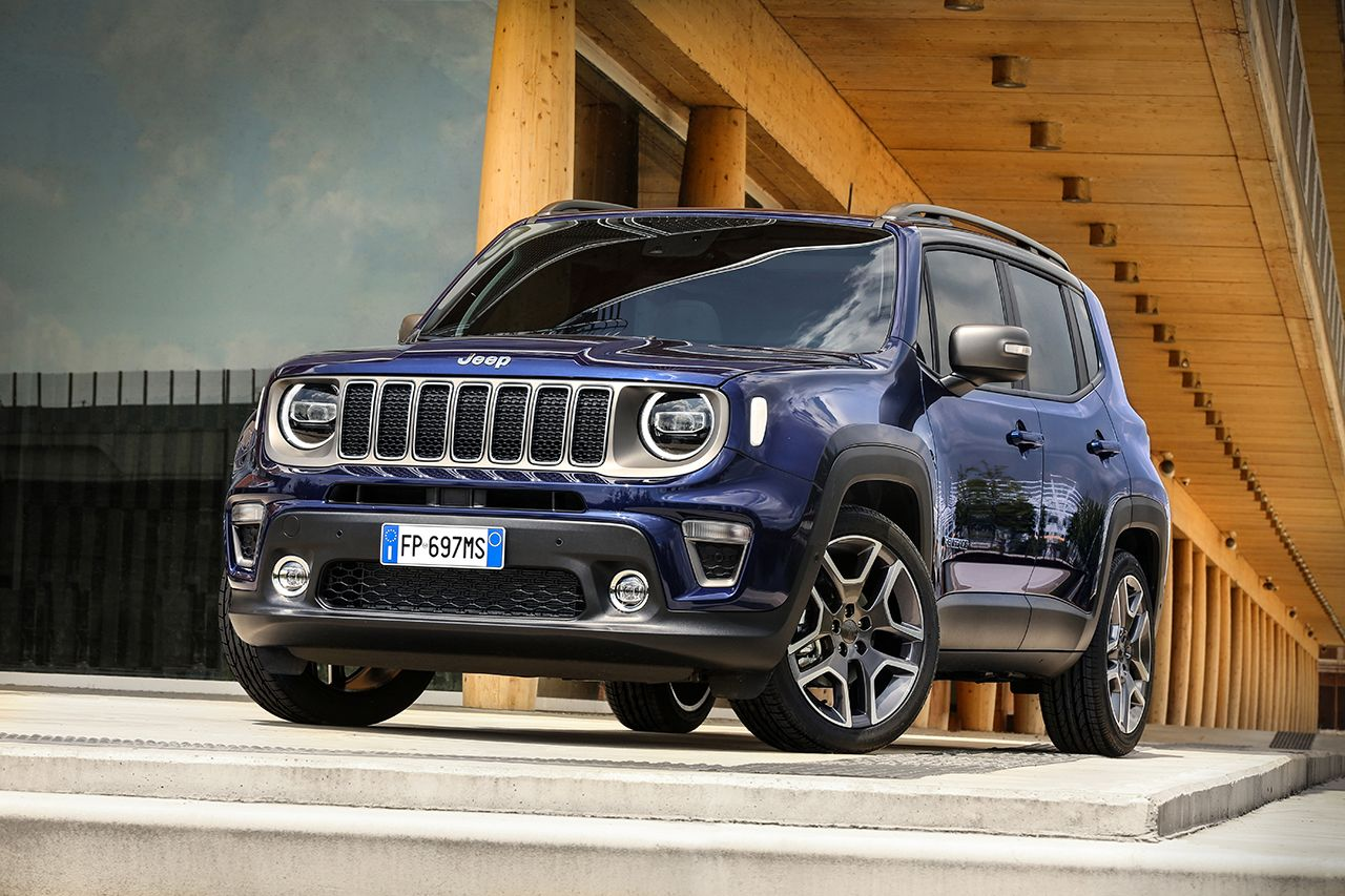 Jeep Renegade Limited 2019 facelift 3