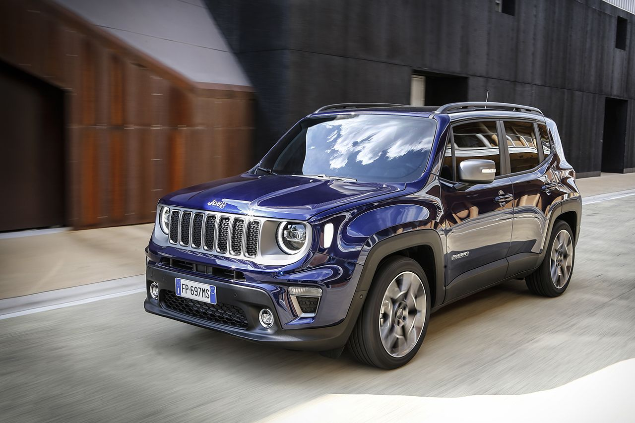 Jeep Renegade Limited 2019 facelift 4