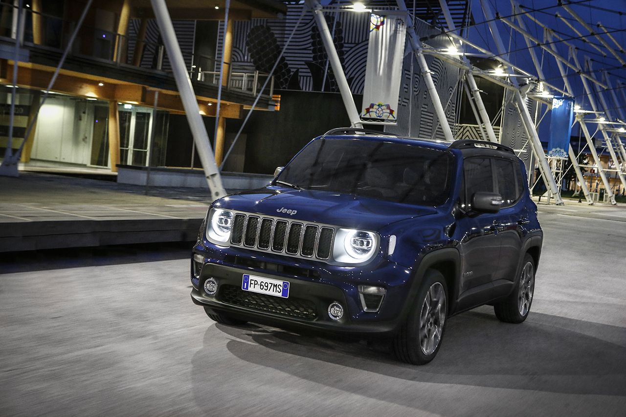 Jeep Renegade Limited 2019 facelift 8