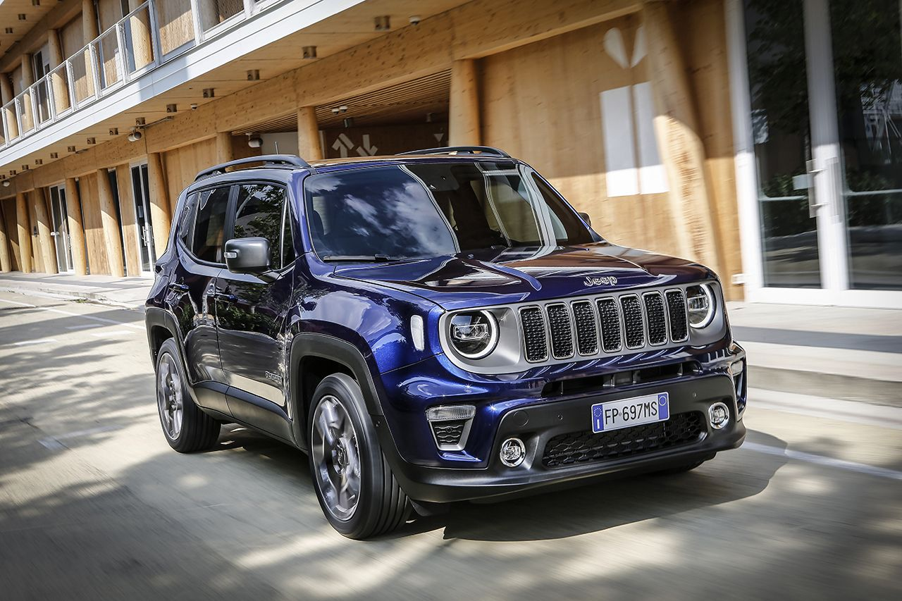 Jeep Renegade Limited 2019 facelift 9