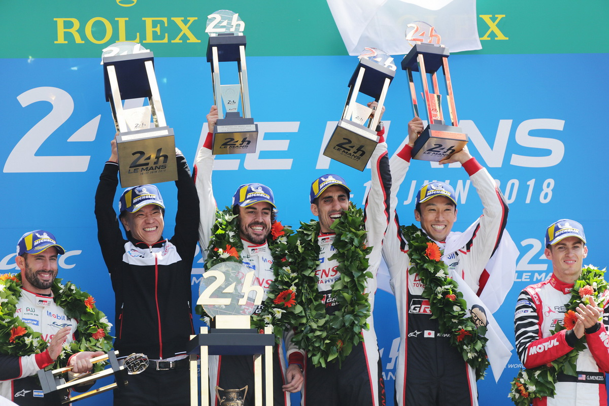 Toyota Le Mans victory 2018 0