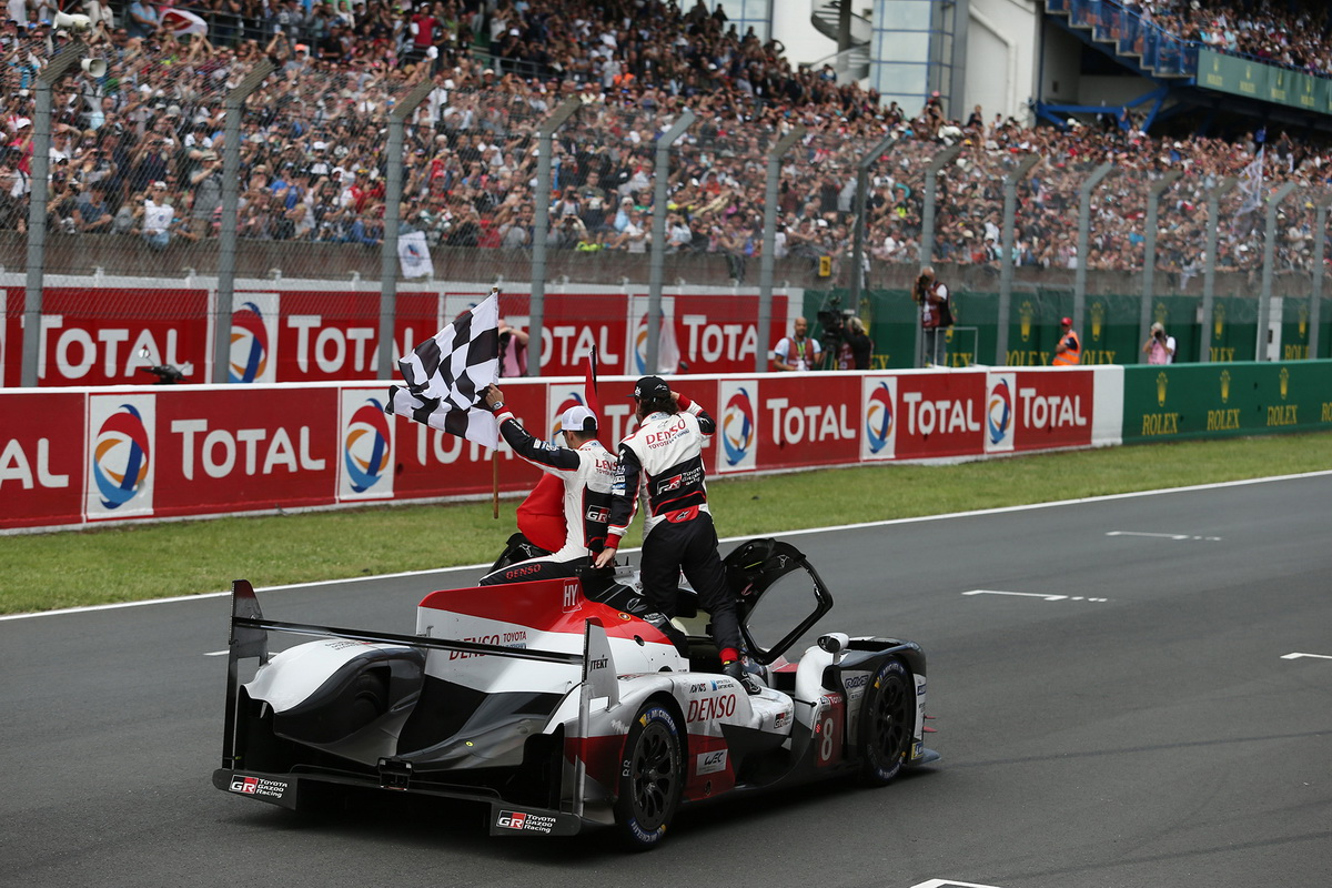 Toyota Le Mans victory 2018 1
