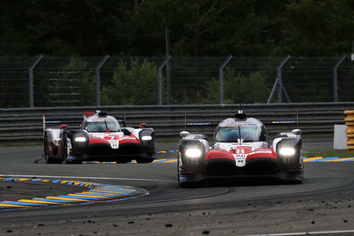 Toyota Le Mans victory 2018 12