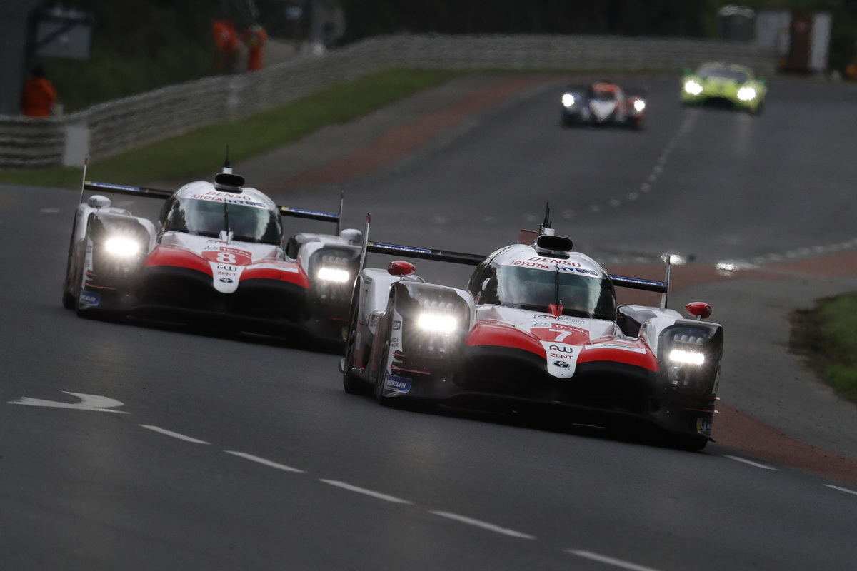 Toyota Le Mans victory 2018 13