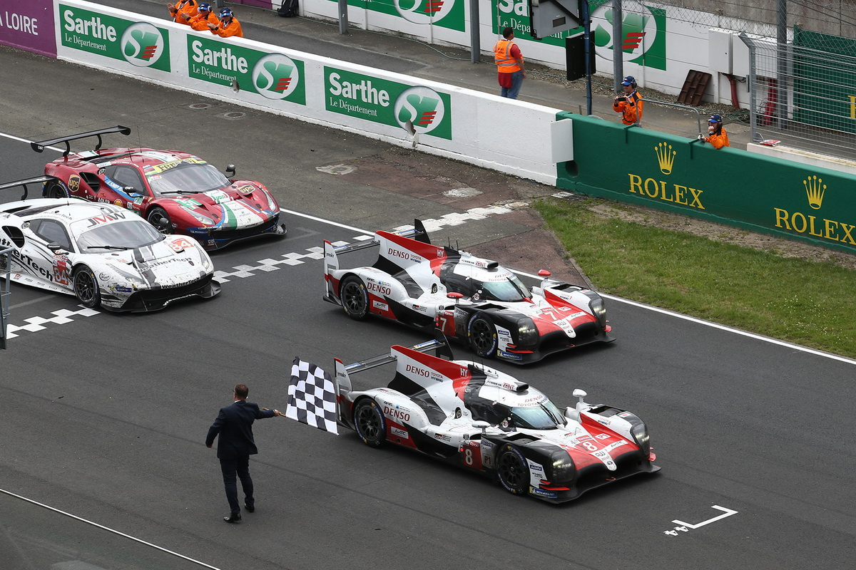 Toyota Le Mans victory 2018 2