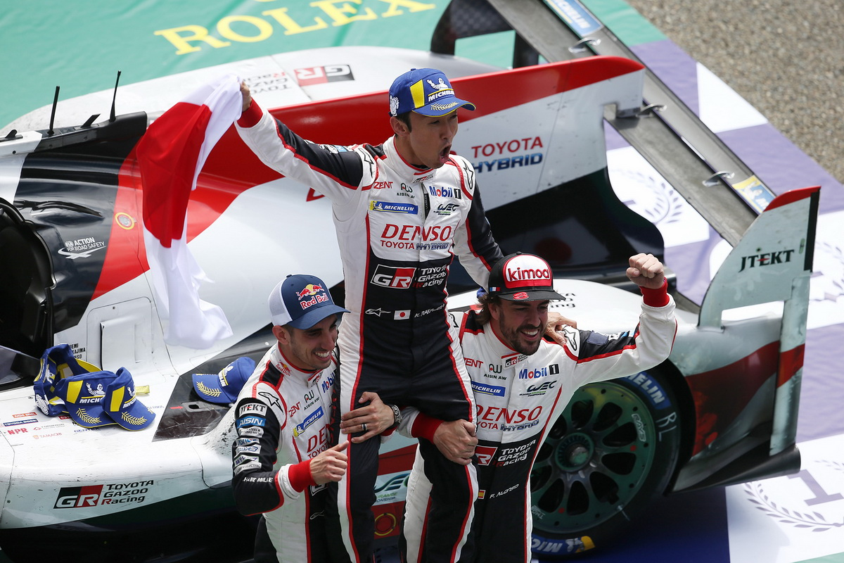 Toyota Le Mans victory 2018 4
