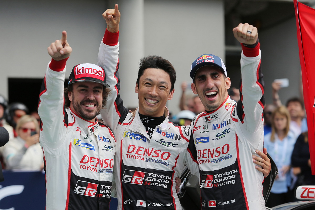 Toyota Le Mans victory 2018 7