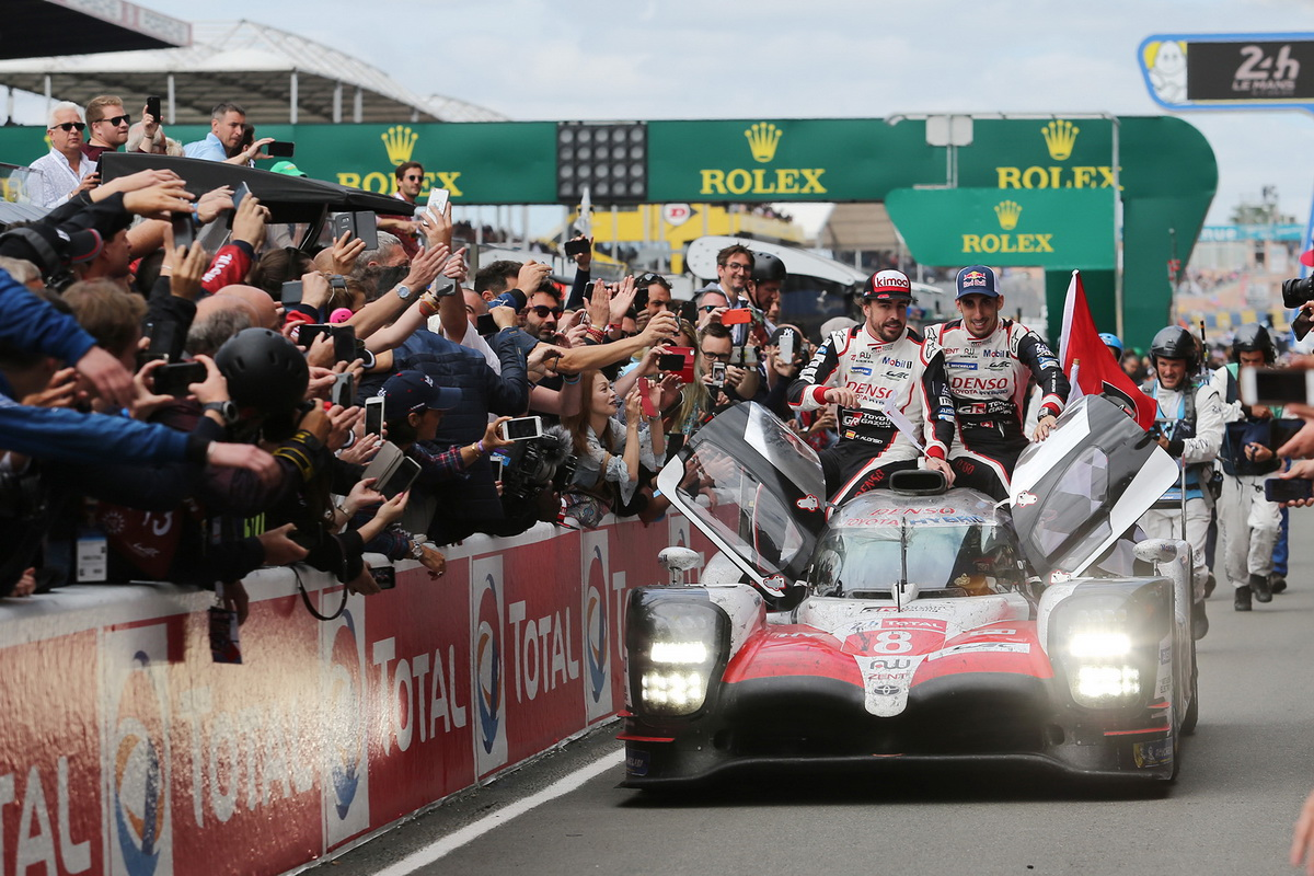 Toyota Le Mans victory 2018 8