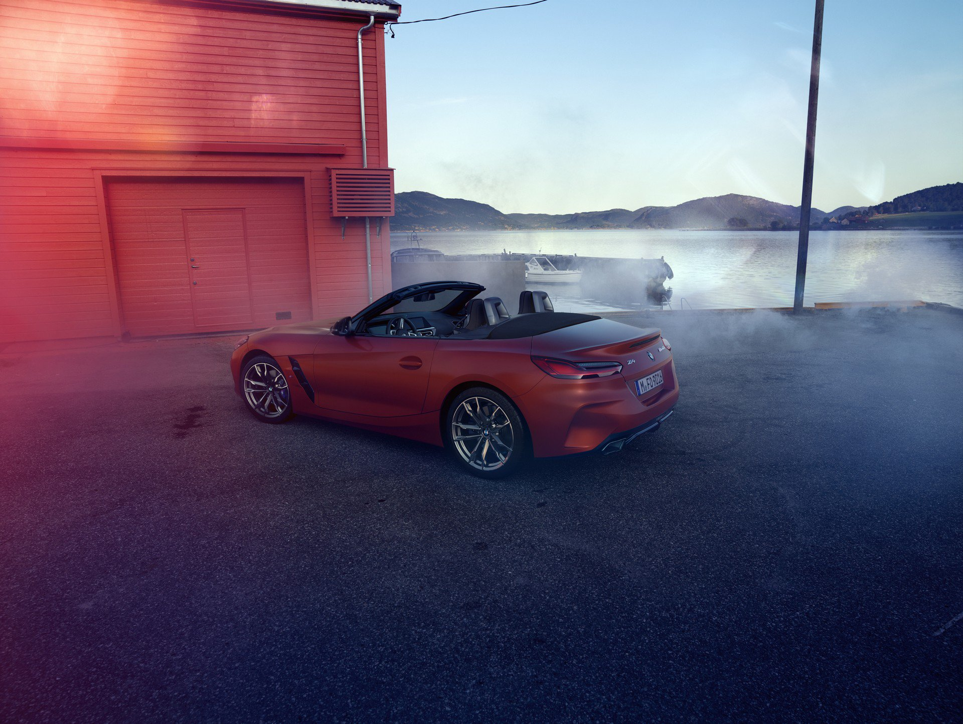 BMW Z4 2019 first images 1
