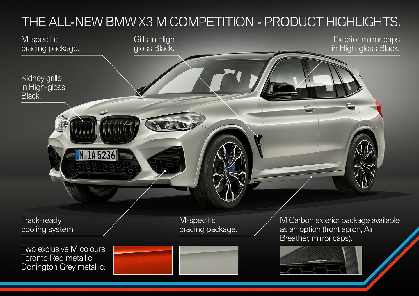 New 2019 BMW X3 X4 M Competition 173