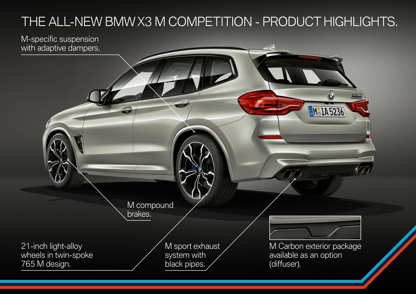 New 2019 BMW X3 X4 M Competition 174