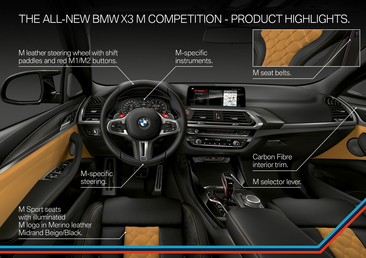 New 2019 BMW X3 X4 M Competition 175