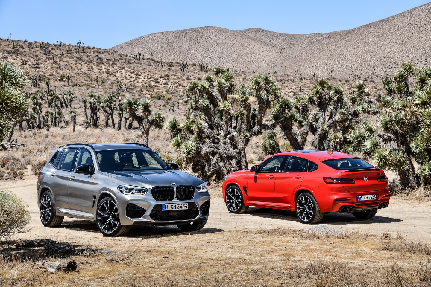New 2019 BMW X3 X4 M Competition 182
