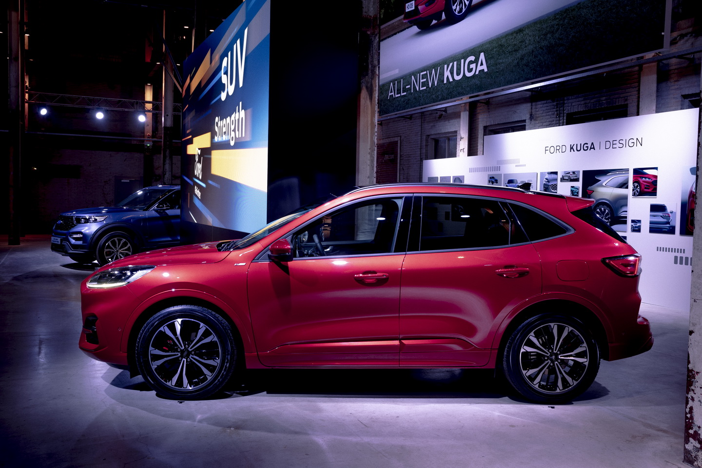 Ford Go Further 2019 event hybrid cars 121