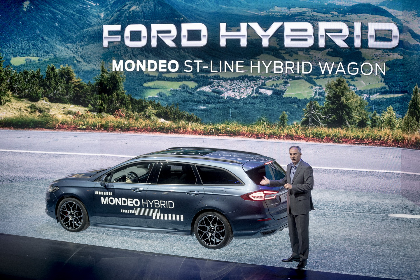 Ford Go Further 2019 event hybrid cars 43