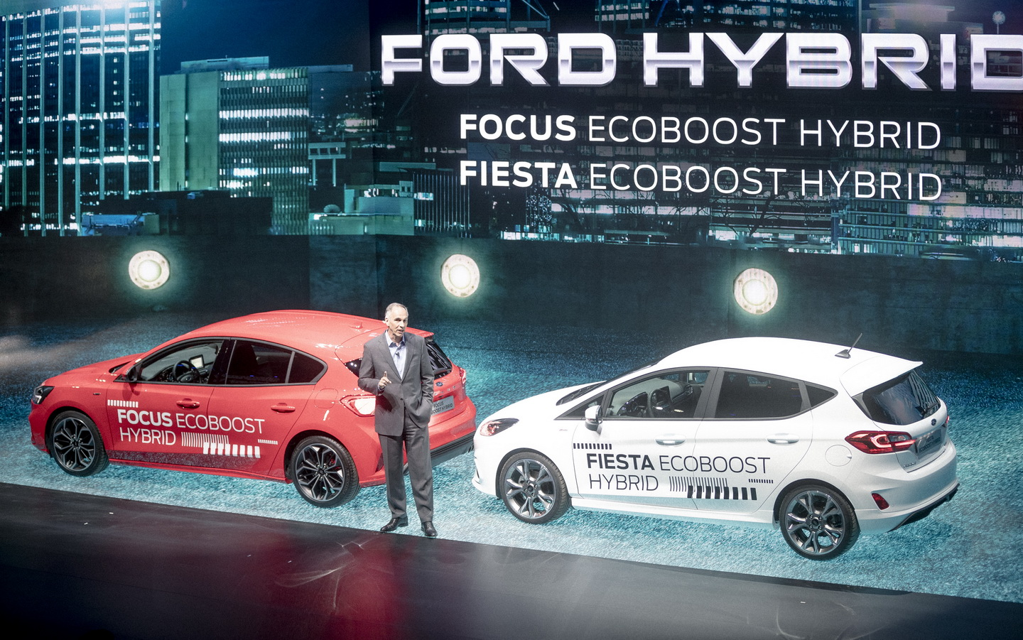 Ford Go Further 2019 event hybrid cars 44