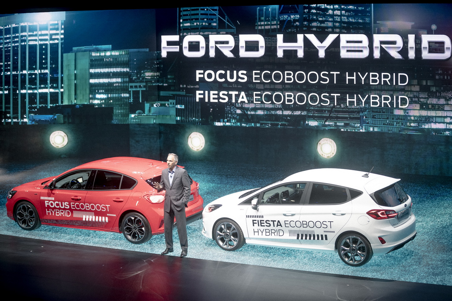 Ford Go Further 2019 event hybrid cars 45