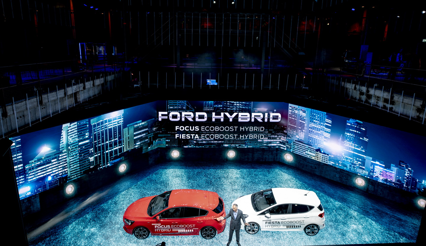 Ford Go Further 2019 event hybrid cars 69