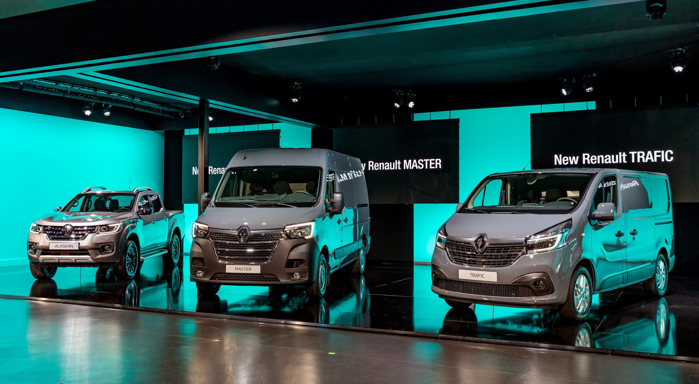 New 2019 Renault Trafic facelift 12