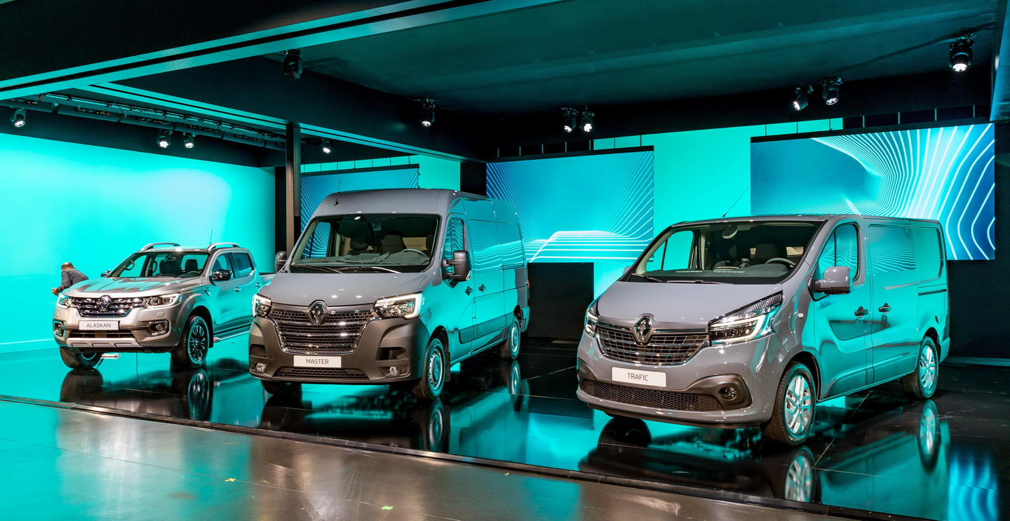 New 2019 Renault Trafic facelift 13