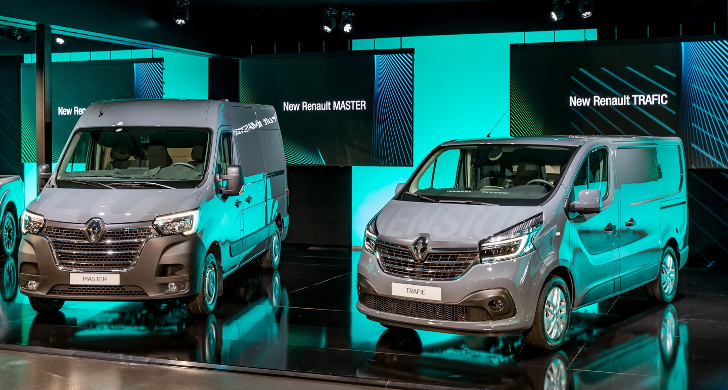 New 2019 Renault Trafic facelift 6