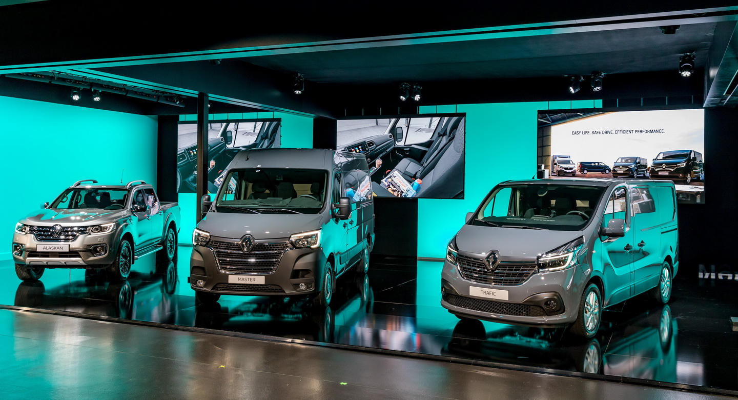 New 2019 Renault Trafic facelift 9