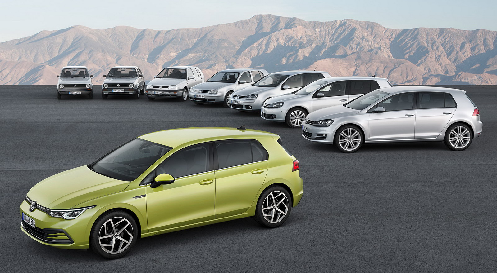 New VW Golf 2019 first images 0