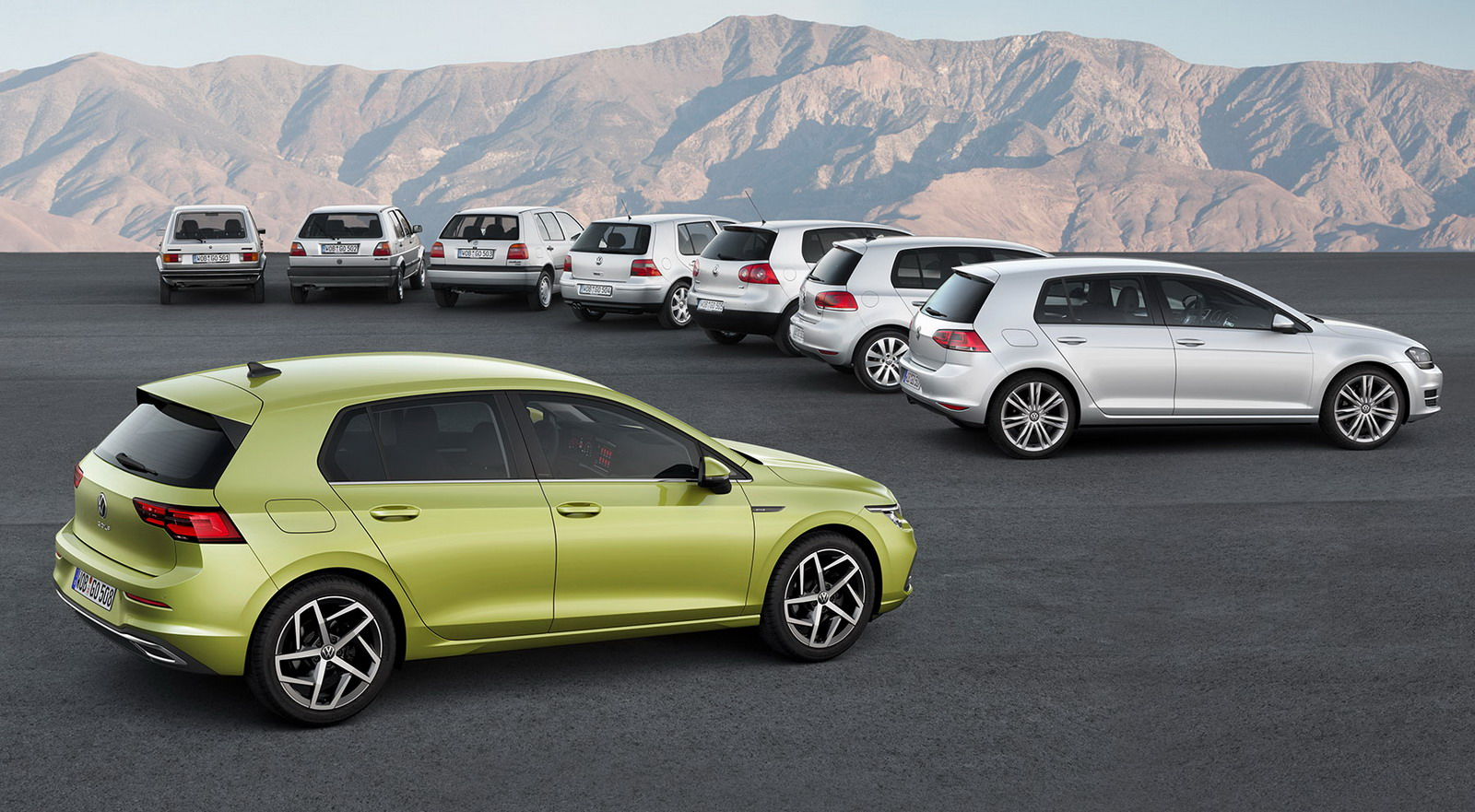 New VW Golf 2019 first images 1