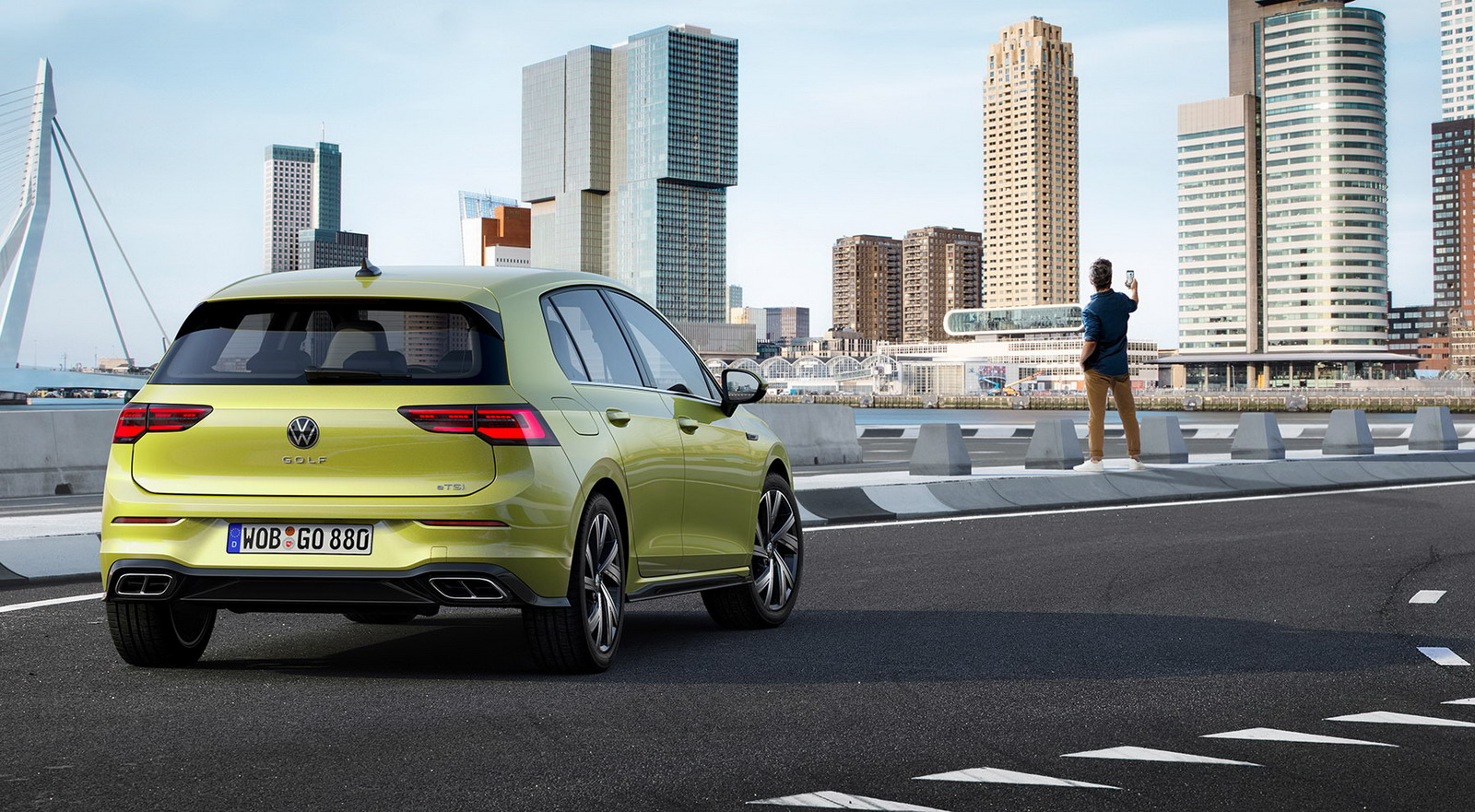 New VW Golf 2019 first images 10