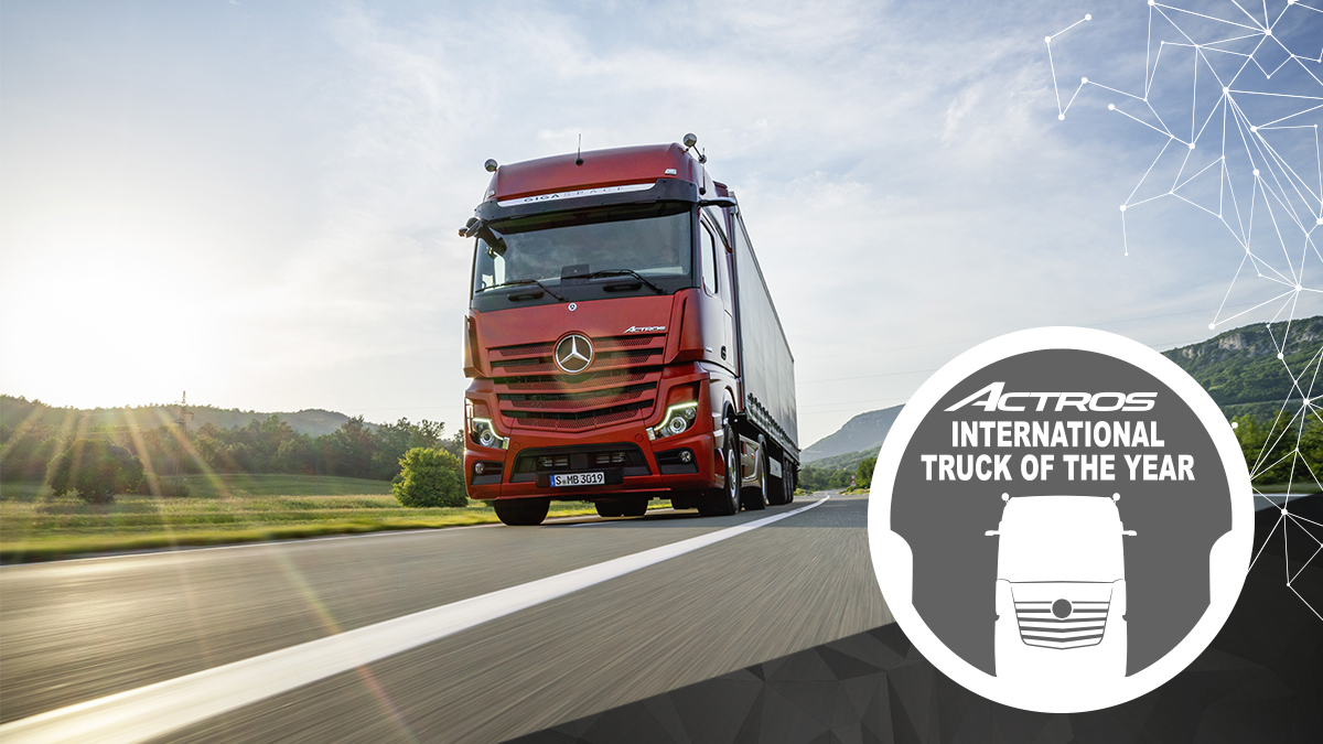 Mercedes Benz Actros Truck of the Year 2020 10