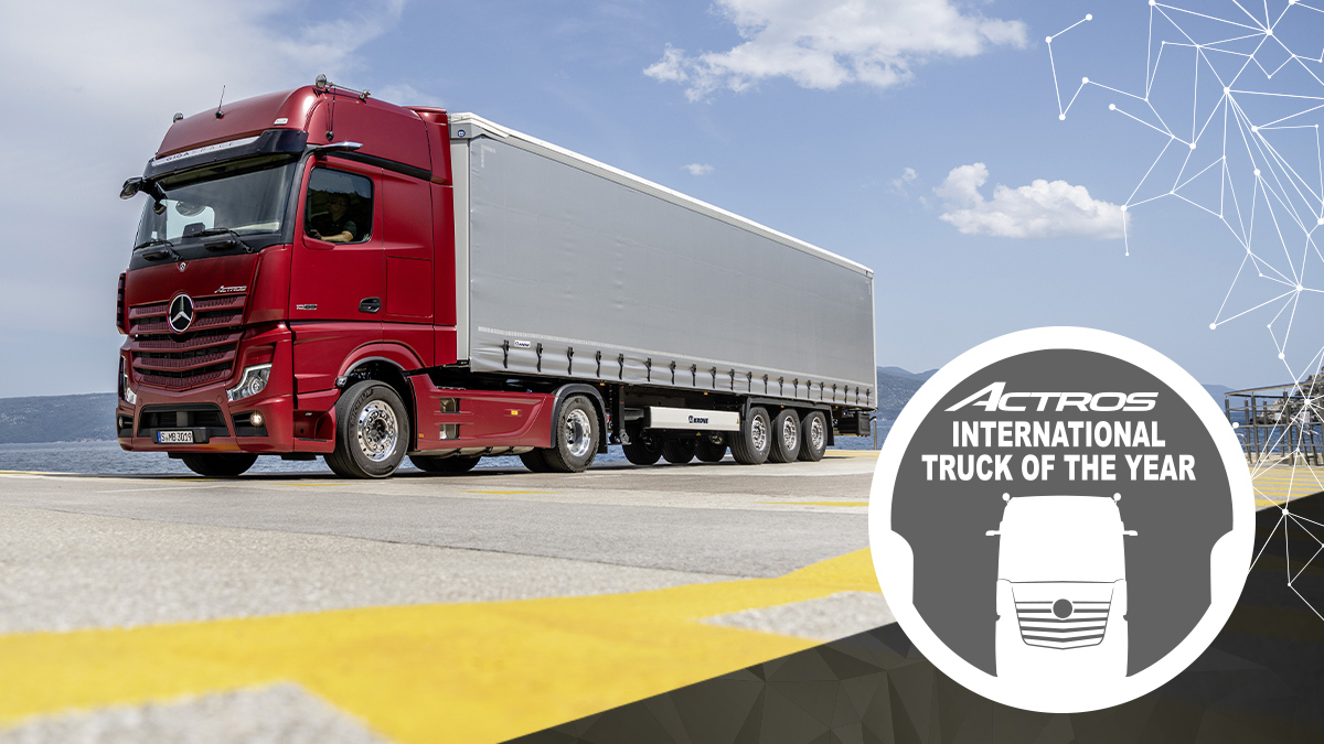 Mercedes Benz Actros Truck of the Year 2020 11