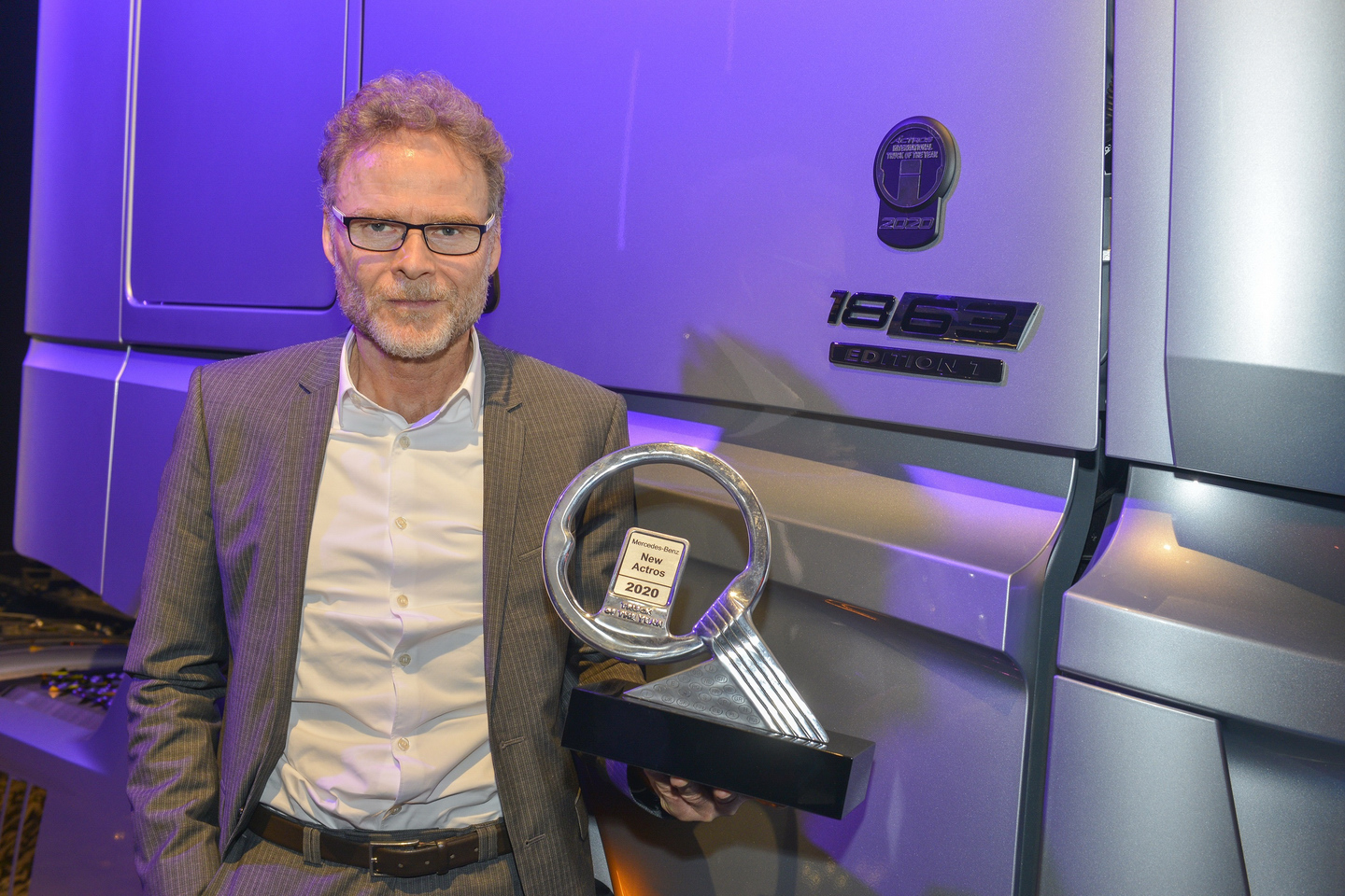 Mercedes Benz Actros Truck of the Year 2020 5