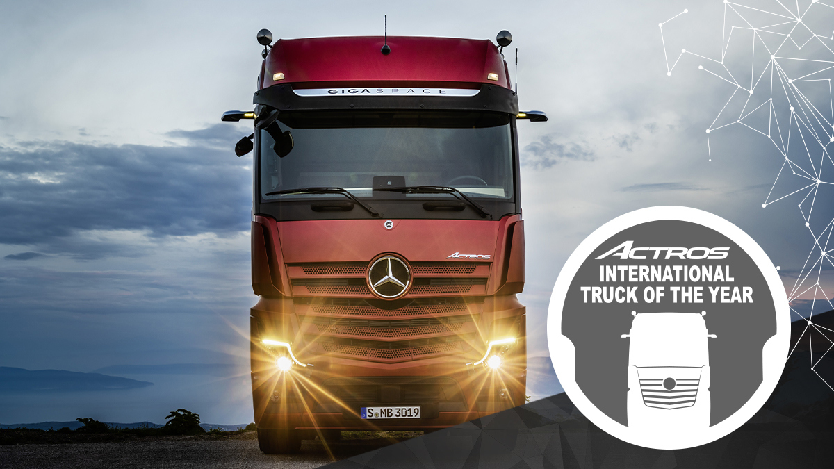 Mercedes Benz Actros Truck of the Year 2020 6