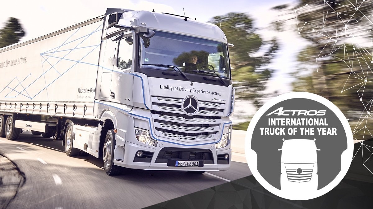 Mercedes Benz Actros Truck of the Year 2020 7
