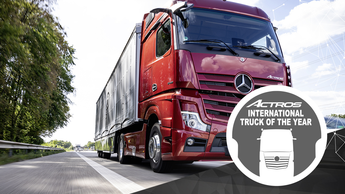 Mercedes Benz Actros Truck of the Year 2020 8