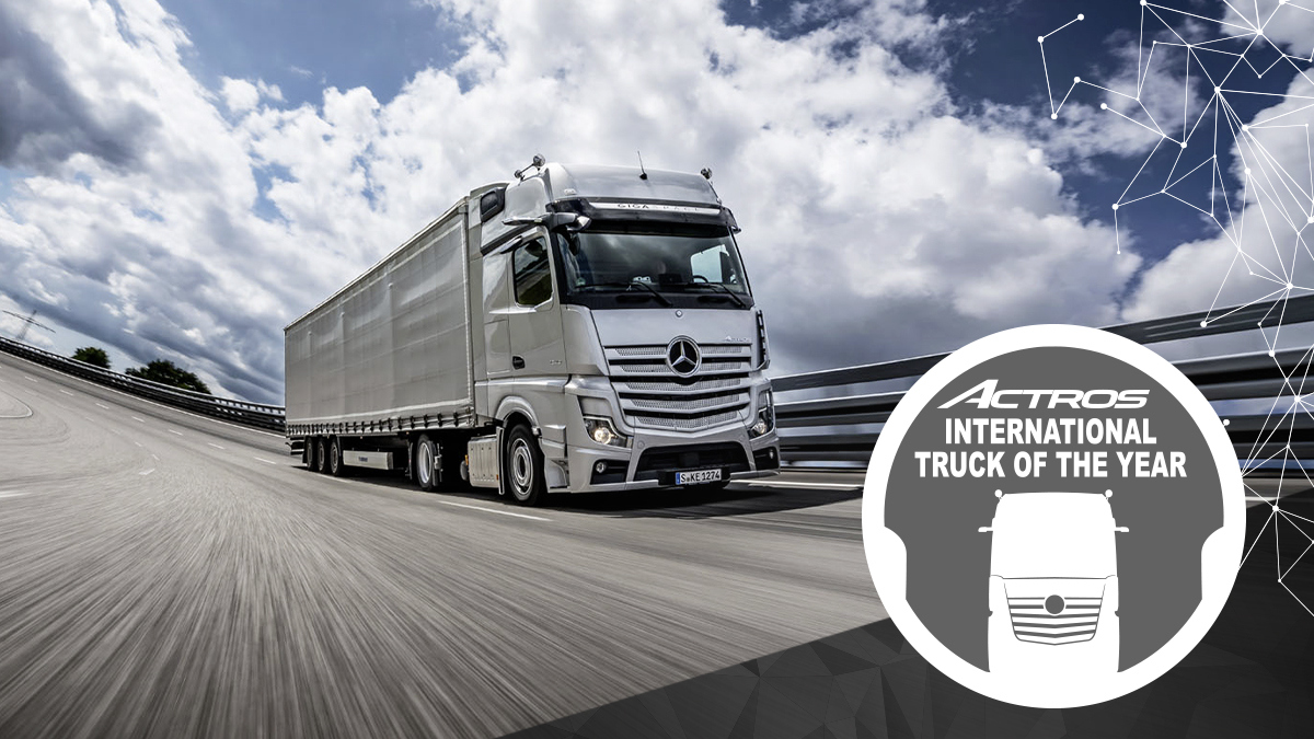 Mercedes Benz Actros Truck of the Year 2020 9