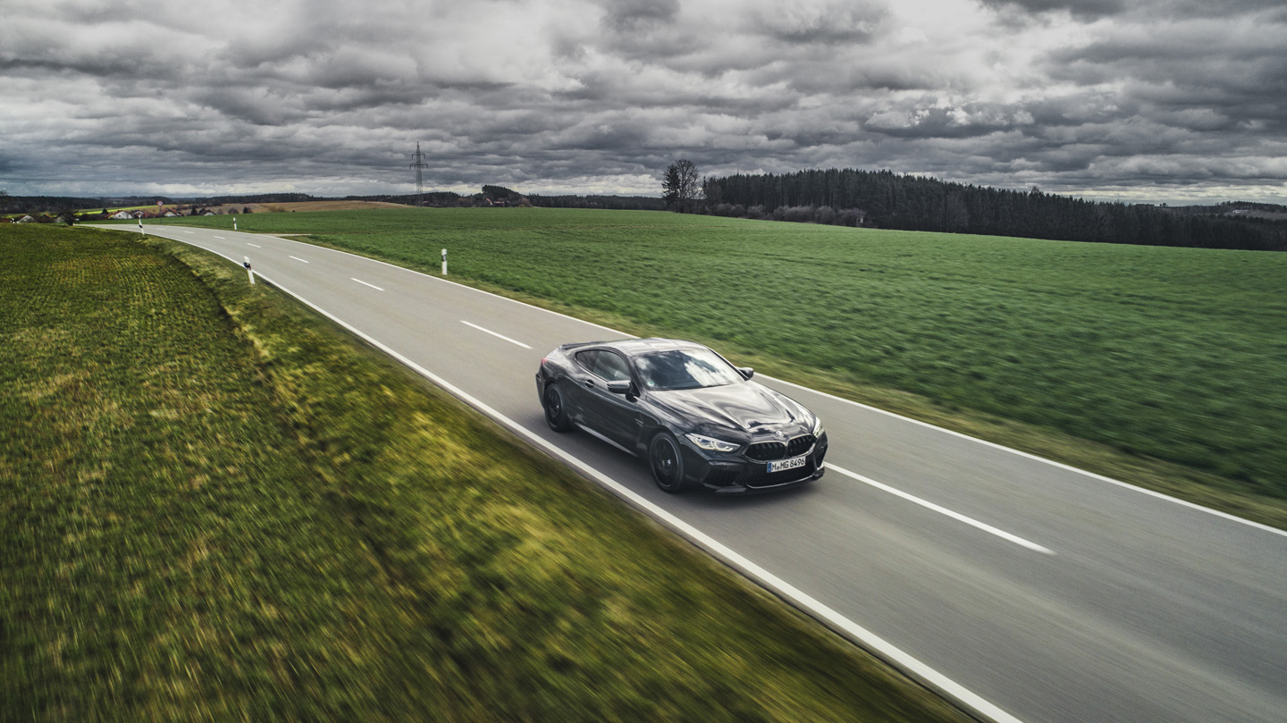 BMW M8 Competition Test Drive 1
